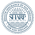 Sharp Health Plan Seal